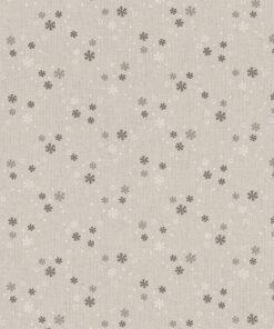 linnenlook kerststof 011 stof met sneeuwvlokken decoratiestof gordijnstof 1.104530.1949.575