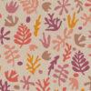 linnenlook printstof 297 stof met koraal decoratiestof 1.104530.1967.380