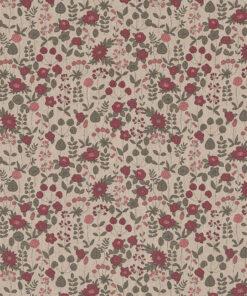 linnenlook printstof 296 stof met bloemetjes decoreatiestof 1.104530.1968.345