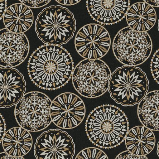 Jacquardstof Dreamcatcher Luxury stof met mandala meubelstof gordijnstof decoratiestof