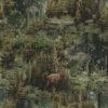 gobelin dieren 017 stof met herten decoratiestof gordijnstof 1.251030.1614.52577