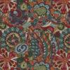 Gobelin Artistic Flower Power stof met retro bloemen meubelstof gordijnstof decoratiestof