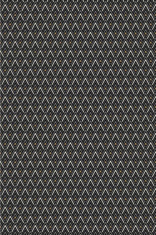 Jacquardstof Art Deco gordijnstof meubelstof decoratiestof stof met grafisch motief 48684-01