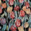 gobelin met tulpen decoratiestof gordijnstof meubelstof