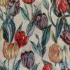 gobelin met tulpen gordijnstof decoratiestof meubelstof