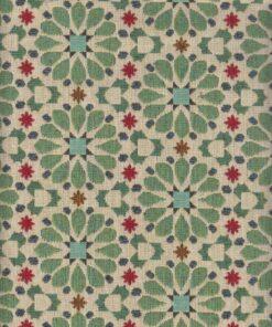 gobelin gebloemd 026 stof met bloemen meubelstof gordijnstof decoratiestof