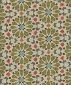 gobelin gebloemd 028 stof met bloemen meubelstof decoratiestof gordijnstof