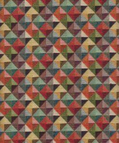 gobelin met driehoeken meubelstof gordijnstof decoratiestof