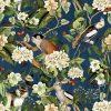 katoenen printstof gordijnstof decoratiestof stof met apen 1.151030.1255.475