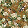 katoenen printstof gordijnstof decoratiestof stof met apen 1.151030.1256.245