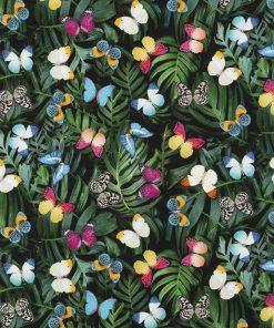 digitale printstof met vlinders katoenen decoratiestof gordijnstof meubelstof 222, 91299-12, 1.151030.1312.530