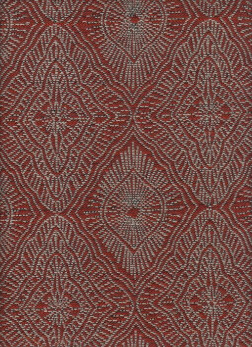 jacquardstof Amulette Sienna stof met amuletten gordijnstof meubelstof decoratiestof