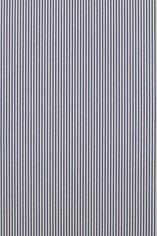 Linnenlook Blue Stripes stof met strepen decoratiestof F07299-260, 1-104530-1674-475