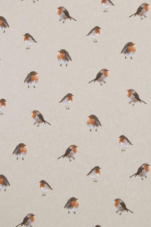 linnenllook printstof vogels gordijnstof decoratiestof F07299-271, 10-104530-1685-275