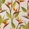 linnenlook Craneflower stof met papegaaibloem decoratiestof F07299-315, 104530-1729-520