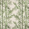 linnenlook Bamboo Leaves stof met bamboe decoratiestof F07299-334., 1-104530-1748-525