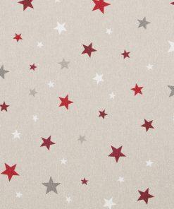 linnenlook kerststof glitter sterren printstof decoratiestof gordijnstof Kerststoffen kopenF07482-01, 1-104533-1013-325