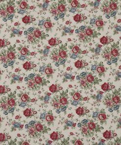 gordijnstof decoratiestof printstof ottoman bloemenstof F2923-01