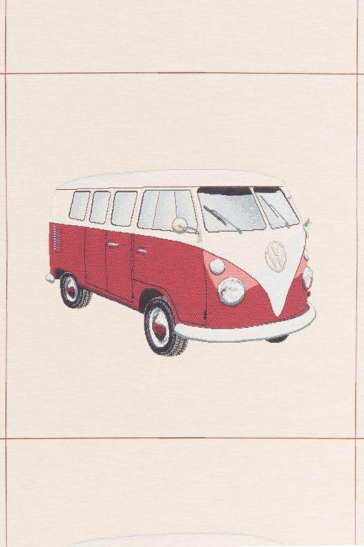 gobelin kussenpanel VW rood F48851-01