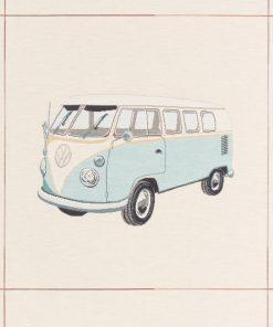 gobelin kussenpanel VW blauw F48852-01