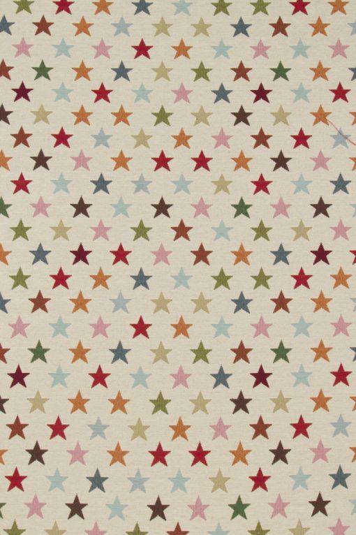 gobelin 033 gobelin stof met sterren decoratiestof meubelstof gordijnstof F87373-01, 1-251030-1435-655