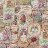gobelin 018 stof met zeepjes decoratiestof gordijnstof meubelstof F87379-01, 1-251030-1450-655
