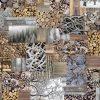 katoenen printstof winter gordijnstof decoratiestof 91186-01, 1.151030.1187.180