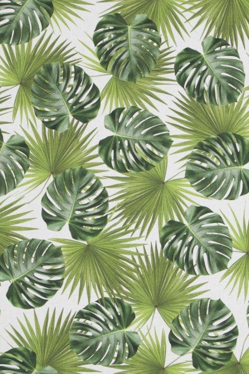 katoenen printstof bladeren gordijnstof decoratiestof 91209-01, 1.151030.1208.525