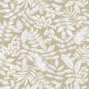 jacquardstof Giuseppe Lin stof met bladeren gordijnstof decoratiestof meubelstof