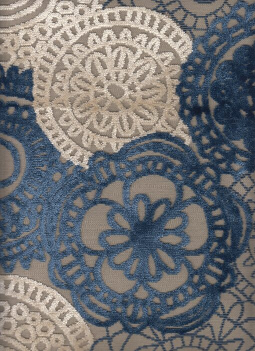 Gobelinstof met mandala gordijnstof decoratiestof meubelstof