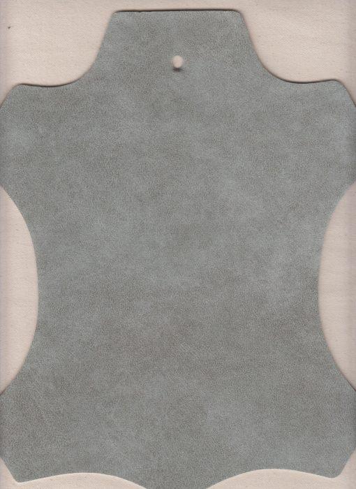interieurstof meubelstof imitatieleer Western silver (118)