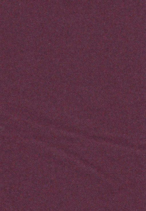 meubelstof face aubergine wol