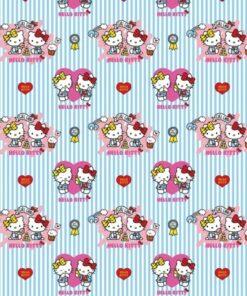 katoenen stof Hello Kitty stof